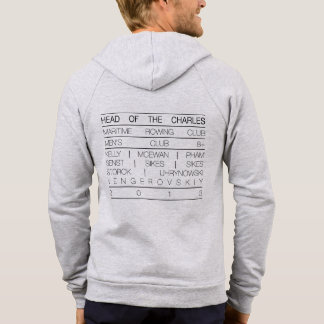 Maritime Rowing: Head of the Charles Men's Club 8+ Pullover