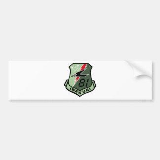 Maritime Self Defense Force 31st Fleet Air Wing 81 Bumper Sticker