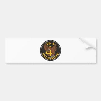 Maritime Self Defense Force 4th air force unit pat Bumper Sticker