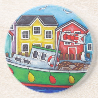 Maritime Special Coaster by Lisa Lorenz