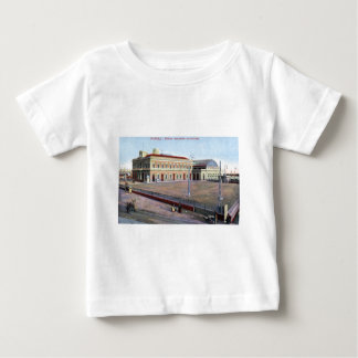 Maritime Station, Napoli Italy 1910 Vintage Baby T-Shirt