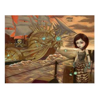"""Maritime Sunset"" Postcard"
