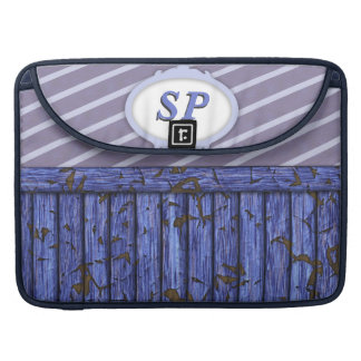 Maritime Wall - Blue Sleeve For MacBook Pro