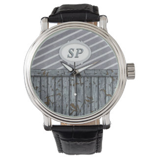 Maritime Wall - Grey Wrist Watches