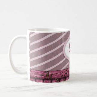 Maritime Wall - Pink Coffee Mug