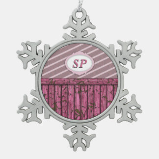 Maritime Wall - Pink Ornament