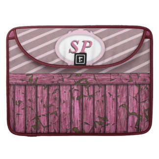 Maritime Wall - Pink Sleeve For MacBooks