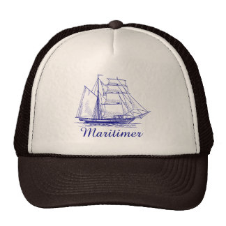 Maritimer  nautical sailing hat Nova Scotia
