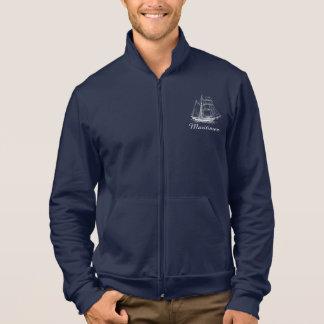 Maritimer nautical sailing ship boat jacket