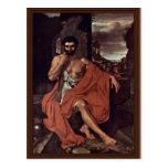 Marius Meditates en las ruinas de Cartago por Vand Tarjeta Postal