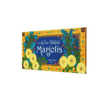 Marjolis Soap LabelParis, France Canvas Print