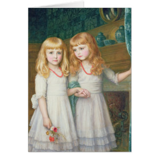 Marjorie and Lettice Wormald Card