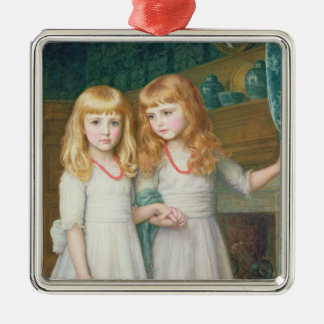 Marjorie and Lettice Wormald Metal Ornament