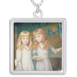Marjorie and Lettice Wormald Silver Plated Necklace