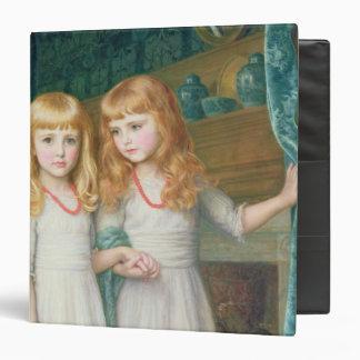 Marjorie and Lettice Wormald Vinyl Binder