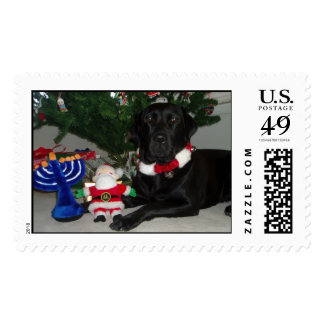 Marjorie Holiday Postage Stamp