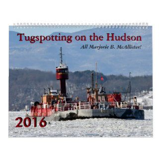 Marjorie McAllister Tugspotting 2016 Calendar