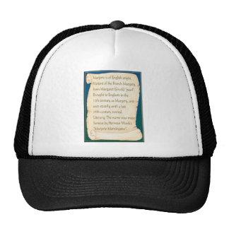 marjorie trucker hat