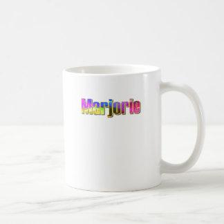 Marjorie's coffee mug
