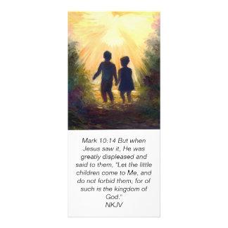 MARK 10:14 Into the Garden, scripture card