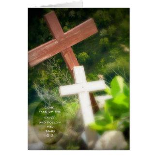 Mark 10:21 Notecard