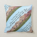Mark 10:27 Pillow at Zazzle