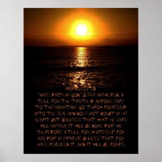 Mark 11:22-24 Poster