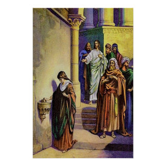 Mark 12:41-44 A Widow Gives All She Has poster