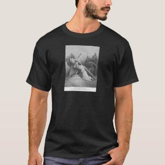 Mark 14 :21-22 Jesus With Cross Mens T-Shirt