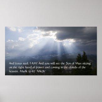 Mark 14:62 print
