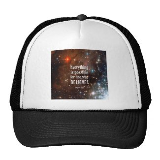 Mark 9:23 trucker hats