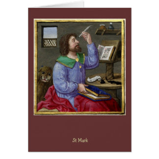 Mark and his Gospel Card