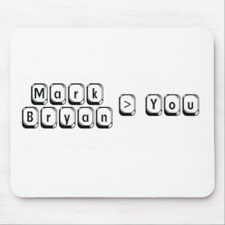 Mark Bryan Greater Mouse Pad