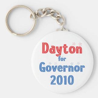 Mark Dayton for Governor 2010 Star Design Keychain