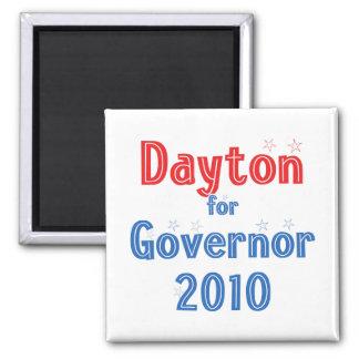 Mark Dayton for Governor 2010 Star Design Fridge Magnet