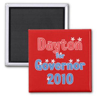 Mark Dayton for Governor 2010 Star Design Refrigerator Magnet