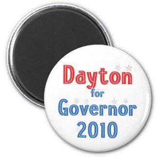Mark Dayton for Governor 2010 Star Design Fridge Magnets