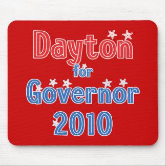 Mark Dayton for Governor 2010 Star Design Mouse Pad
