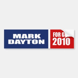 MARK DAYTON FOR GOVERNOR BUMPER STICKERS