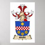 Mark Family Crest Print