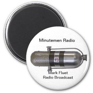 Mark Fuet Radio Broadcast Magnet