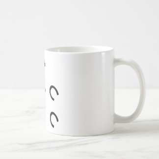 mark-horse classic white coffee mug