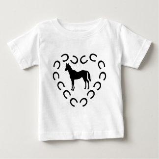 mark horse heart 4 baby T-Shirt