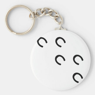 mark-horse keychain