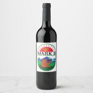 Mark II Ginger Beer Wine Label