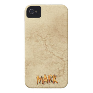 MARK Name Branded iPhone 4 Case