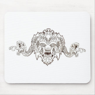 Mark of the beast mouse pad
