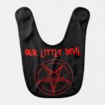 MARK of the DEVIL Baby Bib