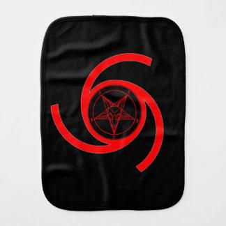 MARK of the DEVIL (Burp Cloth) Burp Cloth