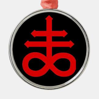 MARK of the DEVIL Metal Ornament